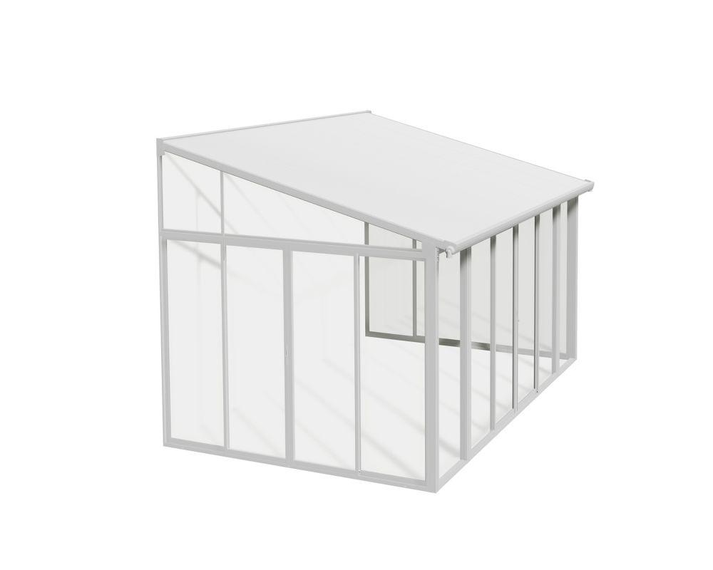 Suncast Resin Wicker Outdoor Screen Enclosure Home