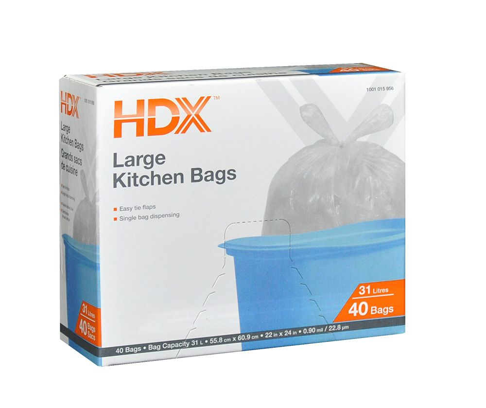 glad tall kitchen drawstring trash bags small kitchens with islands garbage & liners | the home depot canada