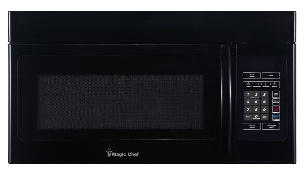 Magic Chef 16 Cu Ft Over the Range Microwave Black