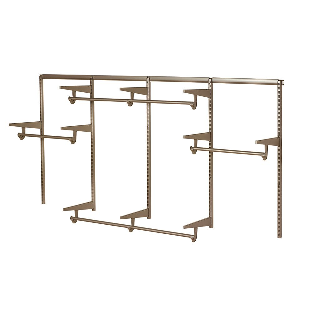 hight resolution of home decorators collection 8 feet closet hardware kit