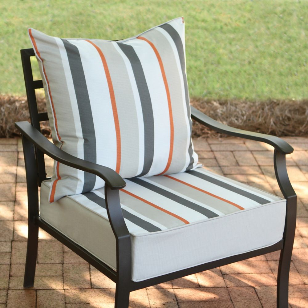 Outdoor Cushions  Pillows  The Home Depot Canada