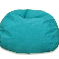 Bean Bag Chairs Canada Black Wishbone Chair Fillers The Home Depot Large Microsuede In Turquoise