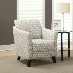 Modern Wingback Chair Canada Bright Starts Baby Swing Pink Accent Chairs The Home Depot Contemporary Cotton In Grey