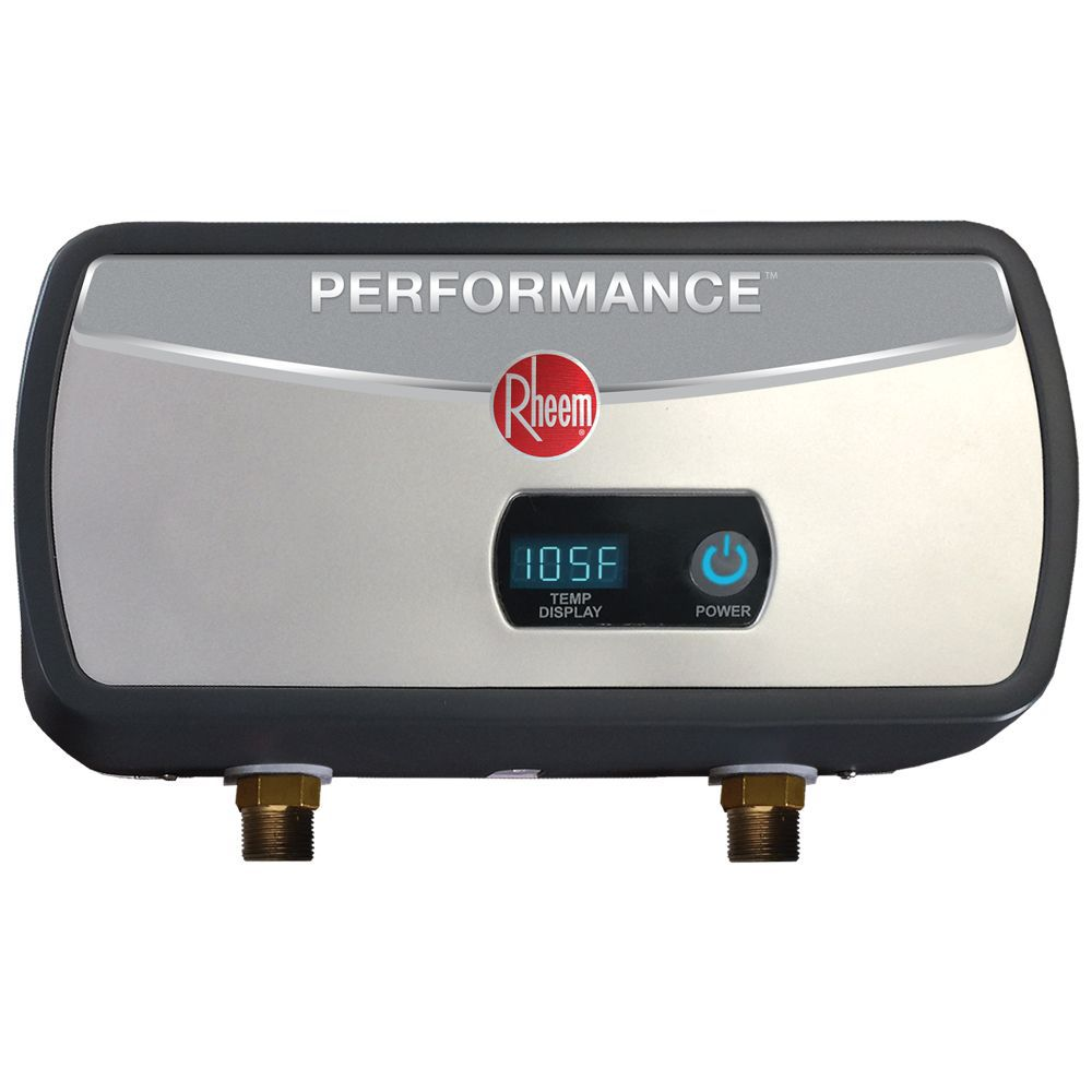 rheem 6kw electric tankless point of use water heater [ 1000 x 1000 Pixel ]