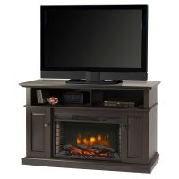 Muskoka 42-inch Wall-Mount Electric Fireplace in Zinc ...