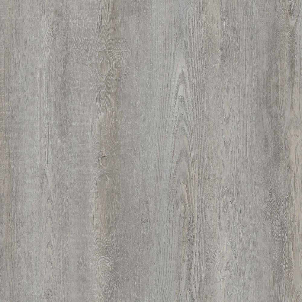 Allure Locking 8.7-inch x 47.6-inch Smoked Oak Silver