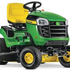 Riding Lawn Mowers In Canada Car Radio Tractors The Home Depot E120 42 Inch 20 Hp Gas Hydrostatic Tractor