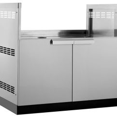 Bbq Kitchen How To Remodel A Outdoor Kitchens Built In Bbqs Cabinets More The Home Classic 40 Inch W X 23 D Stainless Steel Insert