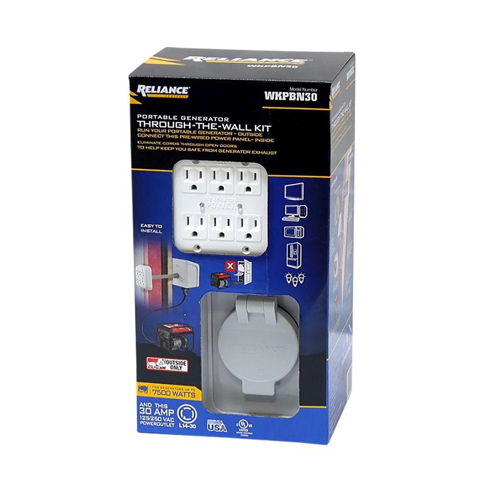medium resolution of reliance controls reliance controls portable generator through the wall kit