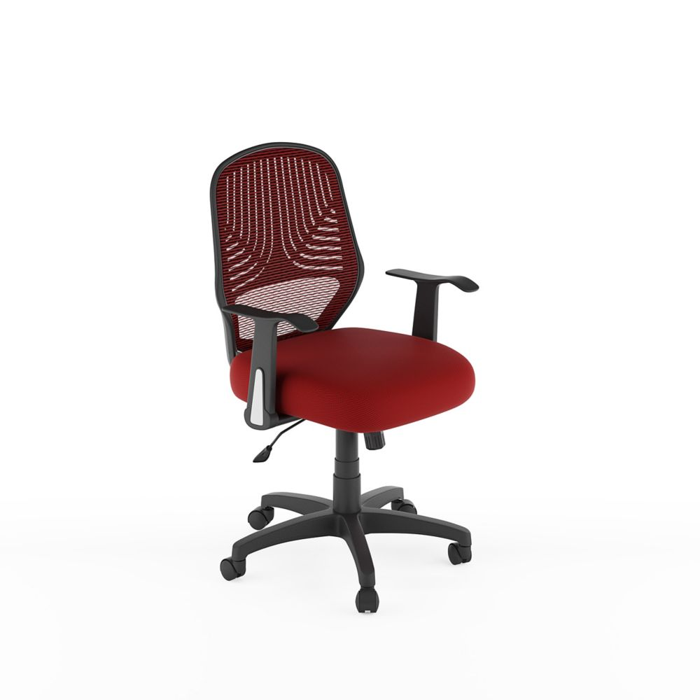 Red Desk Chair Workspace Red Mesh Office Chair