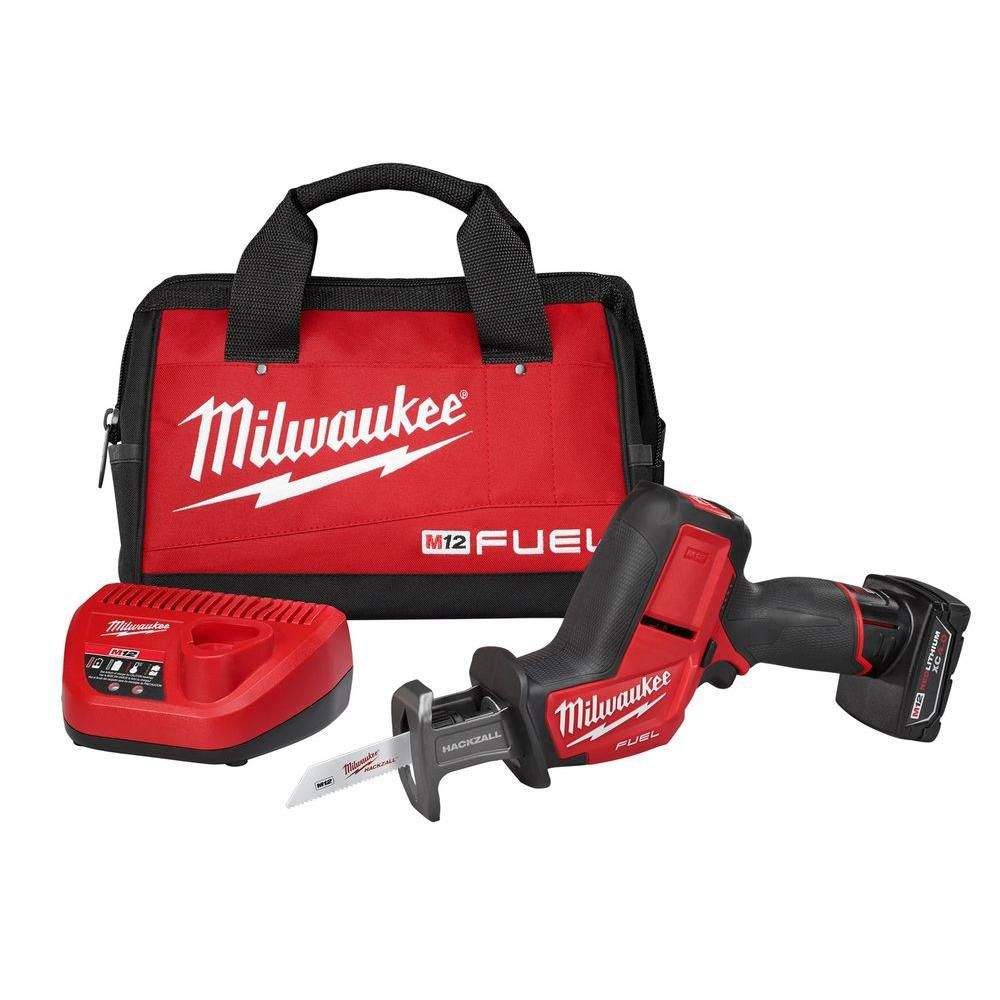 medium resolution of milwaukee tool m12 fuel 12 volt lithium ion hackzall brushless