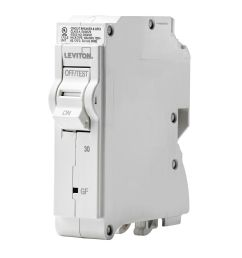 leviton 1 pole 30a 120v gfci plug on circuit breaker [ 1000 x 1000 Pixel ]