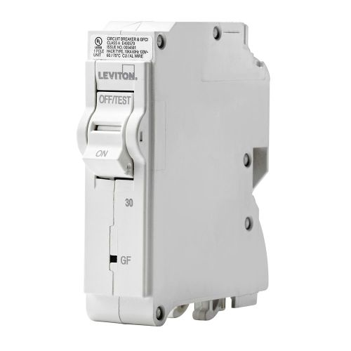 small resolution of leviton 1 pole 30a 120v gfci plug on circuit breaker