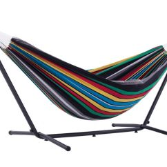 Hammock Chair Stand Calgary Mesh Lawn Chairs Hammocks Patio Swings More The Home Depot Canada Vivere Ltd Double Rio Night With
