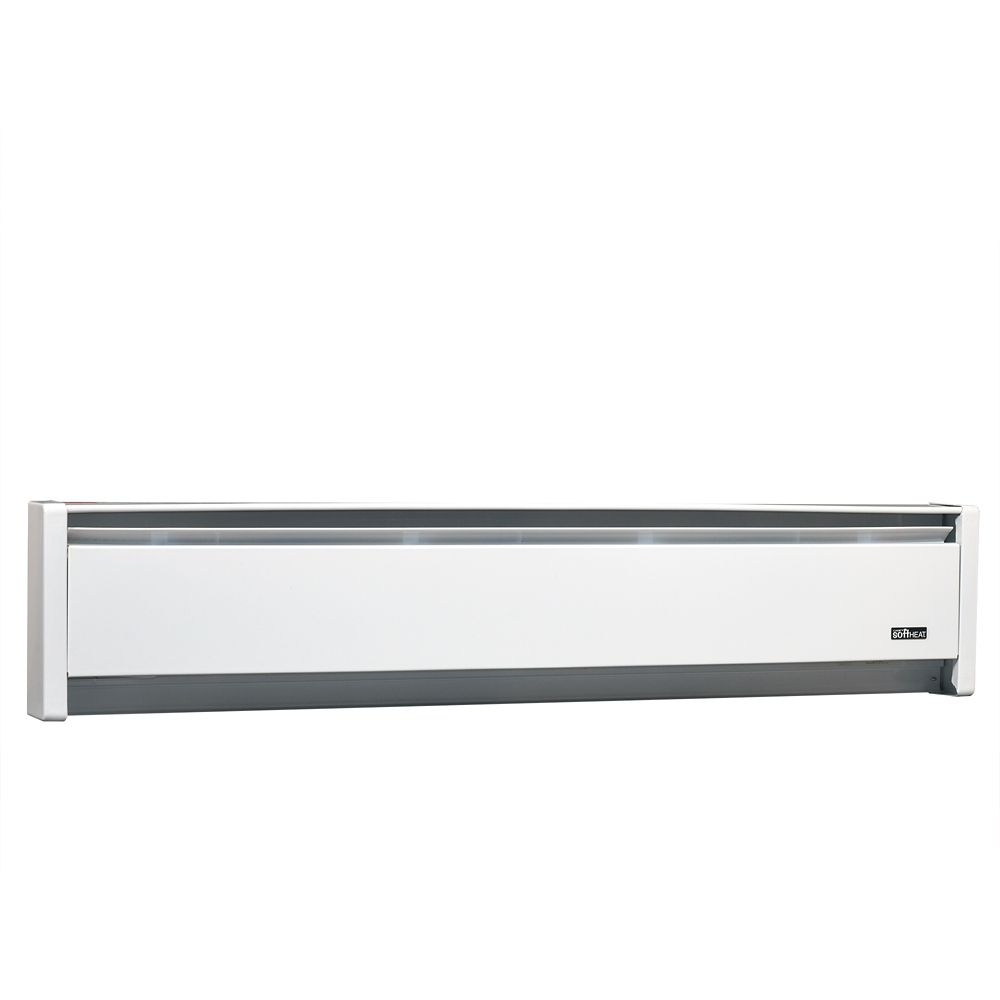 CADET HEAT 1250W 240V. 71 inch SoftHeat hydronic baseboard. white   The Home Depot Canada