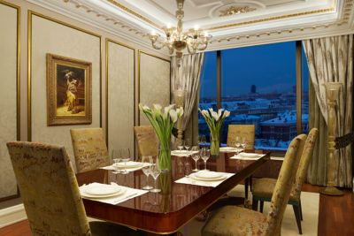 Presidential Suite In Moscow Russia The Ritz Carlton Moscow