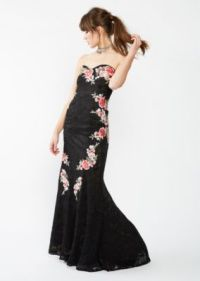 Rhinestone Rose Lace Prom Dress | Going Out Dresses | rue21