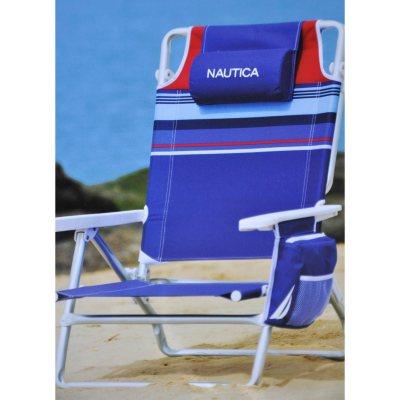 Nautica Beach Chair  Blue  SamsClubcom Auctions