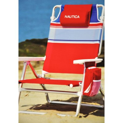 nautica beach chairs table and chair rental prices red samsclub com auctions