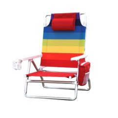 Nautica Beach Chairs Ergonomic Chair For Office Rainbow 5 Position Recline Up To 300