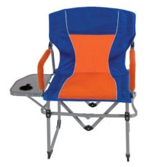 Compact Camping Chair Covers Ideas For Weddings Portable Tailgating Director's Chair, Blue/orange | Samsclub.com Auctions