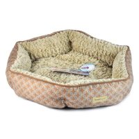 Pooch Planet Plush Sidewall Pet Bed for Small Dogs & Cats ...