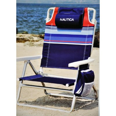 Nautica Beach Chair  Striped  SamsClubcom Auctions