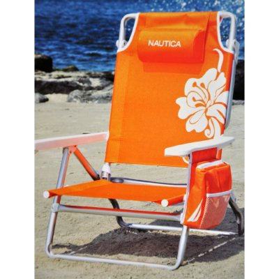 nautica beach chairs battery operated baby swing chair orange samsclub com auctions