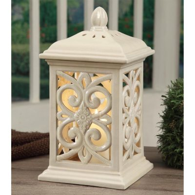Ceramic Outdoor Lantern Brown 19in  SamsClubcom Auctions