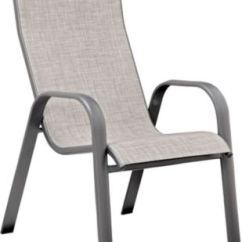 Sling Back Chair Revolving Parts Names Manor Iii Charcoal Hb Outlet At Art Van Large