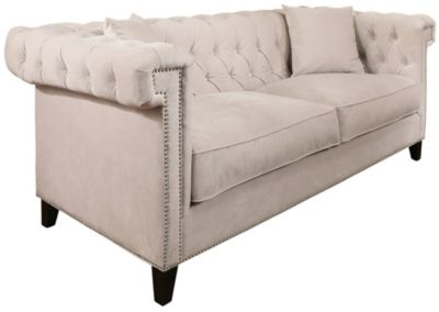 bianca futon sofa bed review slipcovers cheap ivory tufted art van home large