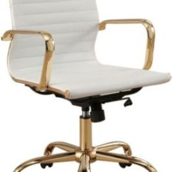 Desk Chair York Office Brands White Gold Art Van Home Large