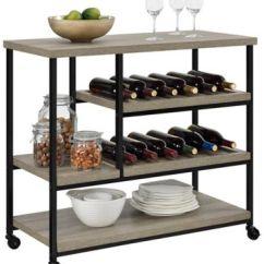 Oak Kitchen Cart Blue Cabinet Knobs Elmwood Grey Art Van Home Large