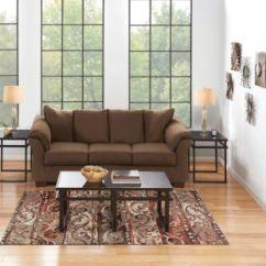 7 Piece Living Room Package Wall Colors With Dark Wood Floors Packages Art Van Home Cafe Large