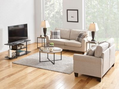 living room package wood packages philo 9 piece large