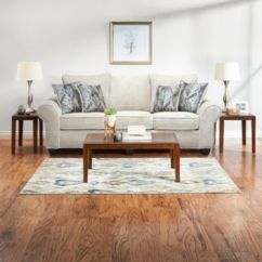 7 Piece Living Room Package Table Collections Packages Outlet At Art Van Hudson Sand Large
