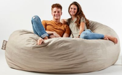 xxl fuf chair large cushions big joe art van home