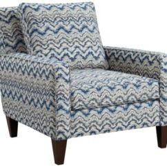 Accent Chair Blue Turquoise Arm Lafayette Art Van Home Large