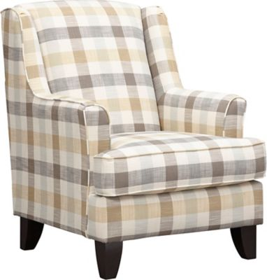 accent chair recliner blow up armchairs chairs art van home palmer plaid wing large