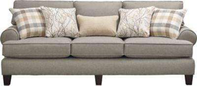 palmer sofa shabby chic sofas toronto art van home grey large