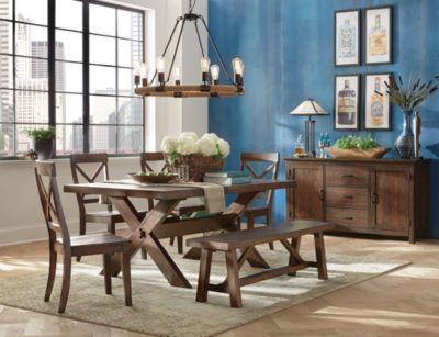kitchen furniture sets granite island table dining room art van home claremont 5 piece set large