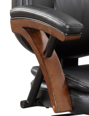 zeta desk chair banquet chairs cheap black art van home large