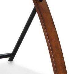 Zeta Desk Chair Lightweight Folding Chairs Brown Cherry Computer Art Van Home Large