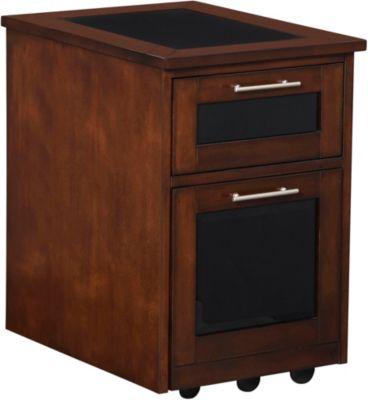 Zeta Rolling File  Art Van Furniture