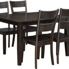 Kitchen Table Sets Ninja Dining Room Furniture Art Van Home Choices 5 Piece Set Java