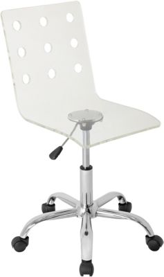clear desk chairs rattan wingback skokie chair art van home large