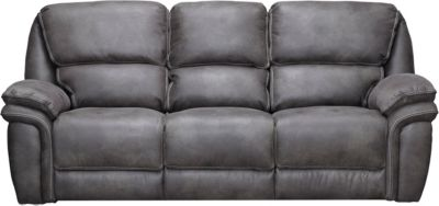 grey power reclining sofa sofas with chaise lounges leather ero outlet at art van large