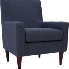 Accent Chair Blue Medical High Emma Navy Outlet At Art Van Large