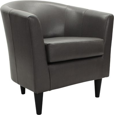 leather accent chairs world market adirondack reviews art van home windsor chair charcoal grey large