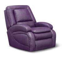 Purple Handbags: Purple Leather Recliner